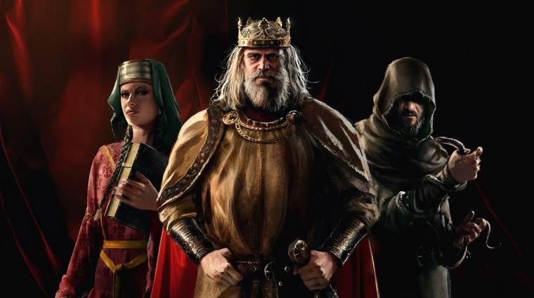 Már testre is szabhatjuk a Crusader Kings 3-as uralkodónkat bevezetőkép