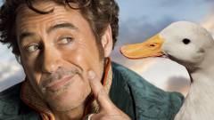 Robert Downey Jr. CGI-állatokkal pózol a Dolittle új poszterein kép