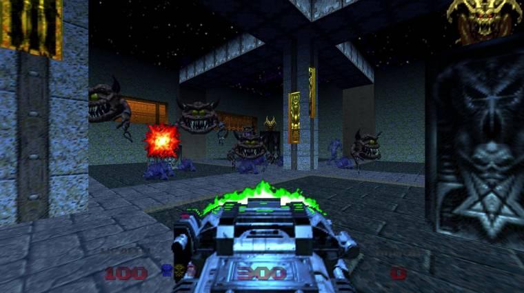 Doom 64 - hivatalos trailert is kapott a klasszikus lövölde új verziója bevezetőkép