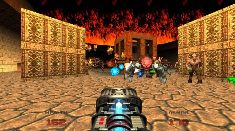A Doom 64 sötét és teljesen elszédülsz tőle bevezetőkép