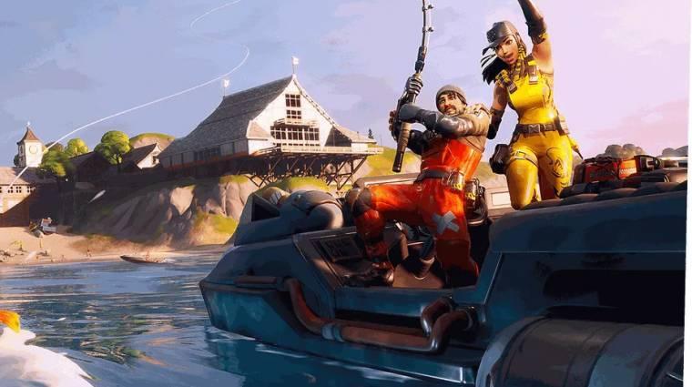 Fortnite - már sikerült kifogni az első különleges aranyhalat bevezetőkép