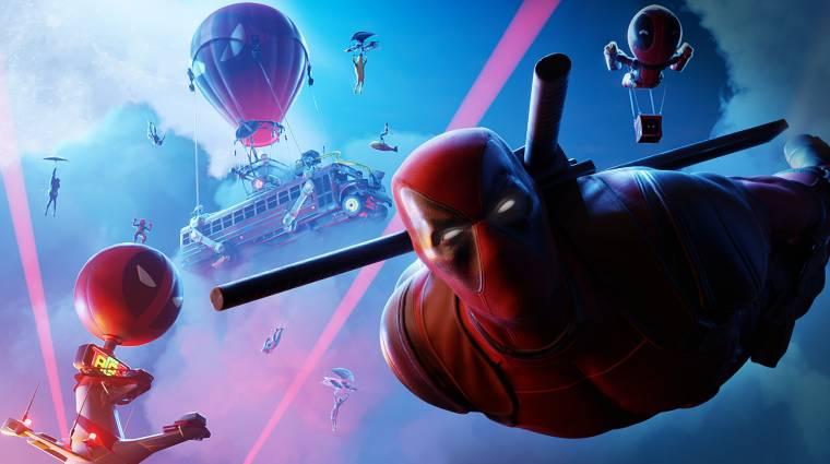 Megérkezett a Deadpool skin a Fortnite-ba, néhány kihívást kell teljesíteni érte bevezetőkép