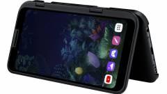 Itt az LG 5G-képes, dupla kijelzős okostelefonja kép