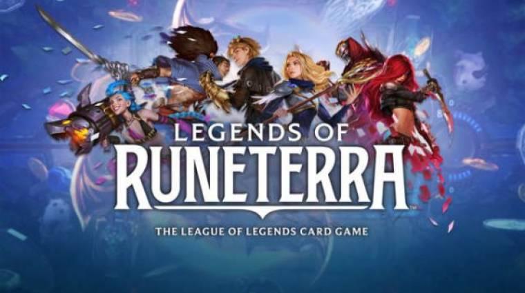 Legends of Runeterra - saját kártyajátékot kap a League of Legends bevezetőkép