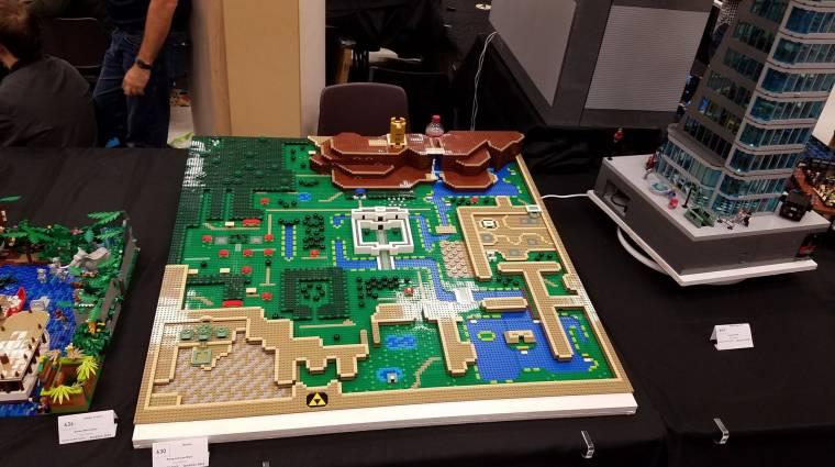 Így kell LEGO-ból megépíteni a The Legend of Zelda: A Link to the Past egyik térképét bevezetőkép