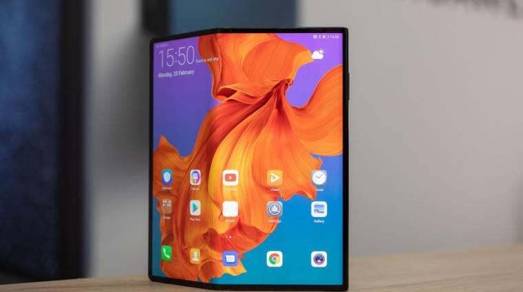 Február 24-én érkezhet a Huawei következő összehajtható okostelefonja kép