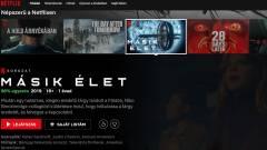 Mától magyarra váltott a Netflix kép