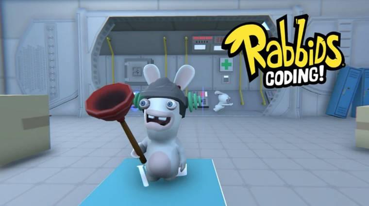 Rabbids Coding - a Ubisoft nyulas játékkal segít programozást tanulni bevezetőkép