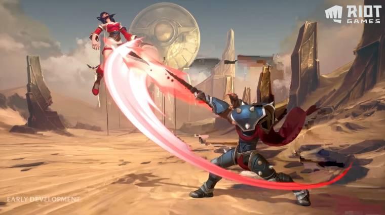A Project L a Riot csapatának verekedős játéka bevezetőkép