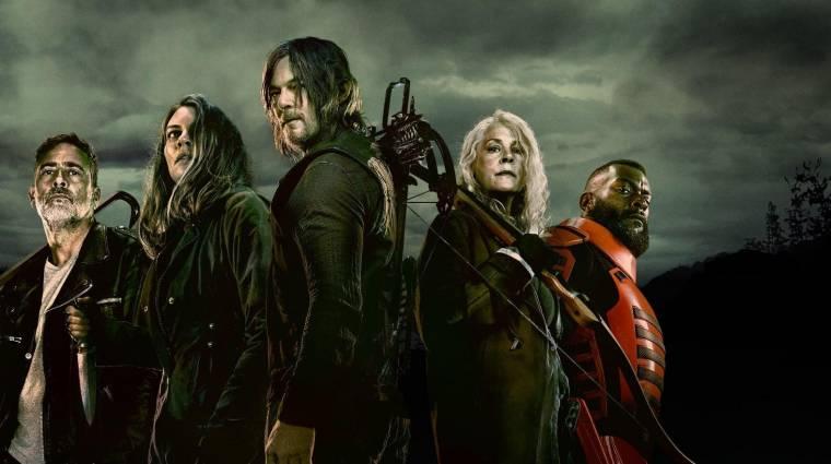 Kezdetét veszi a vég a The Walking Dead utolsó évadának masszív előzetesében kép