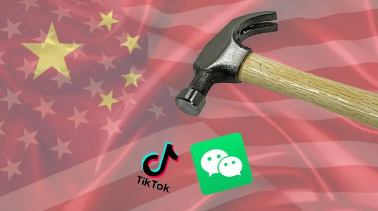 Trump már globális TikTok és WeChat tiltást akar, az Apple is bukhat rajta kép