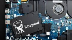 Új Kingston SSD extra funkciókkal kép