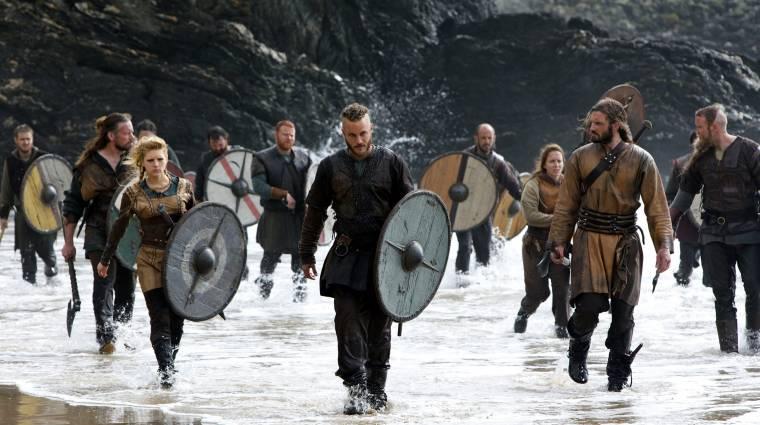 Látványos színfalak mögötti videóval nézhetünk bele a Vikingek: Valhallába kép
