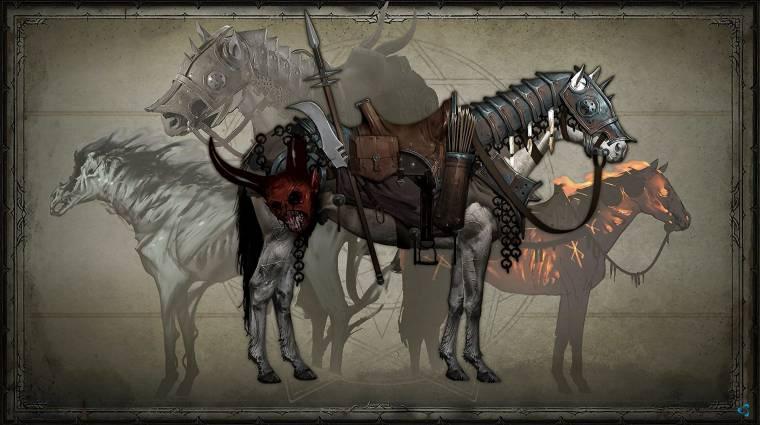 Diablo IV - a hátasainkat is részletesen testreszabhatjuk majd bevezetőkép