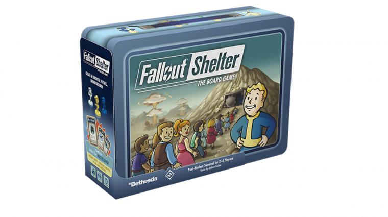 Már a Fallout Shelter társasjáték doboza is remek bevezetőkép