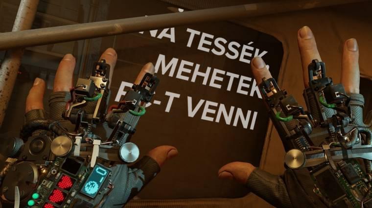 Egy ilyen szettel már fut a Half-Life: Alyx kép