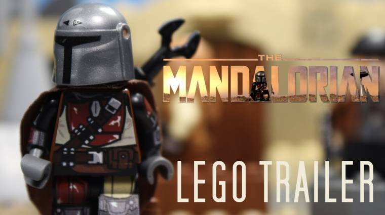 Még Pedro Pascal is rákattant erre a tökéletes The Mandalorian LEGO trailerre bevezetőkép