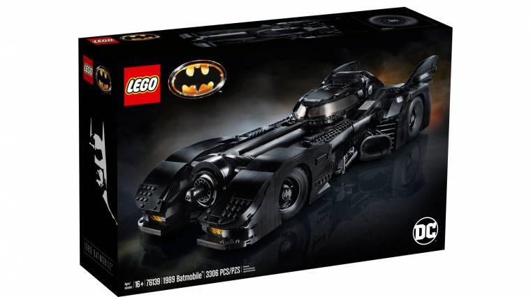 Elképesztően jól néz ki és egészen hatalmas az új LEGO Batmobil bevezetőkép