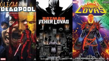Olvasósarok: Batman: Fehér lovag, Ölégia, Kozmikus Szellemlovas, From Hell és Repeta kép