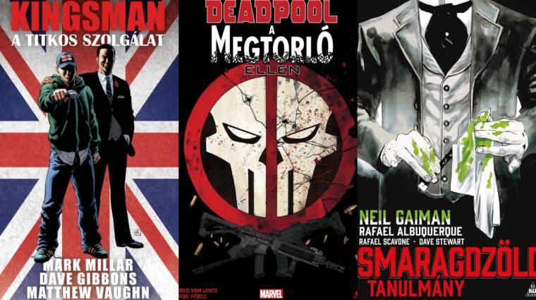 Olvasósarok - Kingsman, Titkos Bosszúállók, Deadpool a Megtorló ellen és Jessica Jones kép