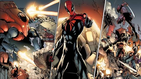Olvasósarok - Oltalmazók, Fantasztikus Négyes, Póklány, X Generáció, Tökéletes Pókember kép