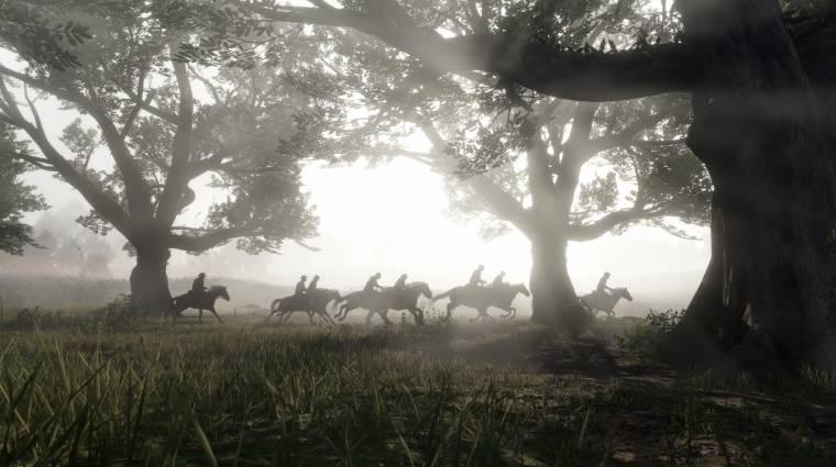 Red Dead Redemption 2-ben készült kép szerepelt illusztrációként egy amerikai hírműsorban bevezetőkép