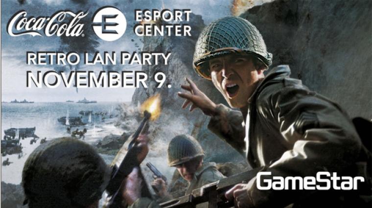 Retro Lanparty - mi is megmérettetjük magunkat a Coca-Cola Esport Center Call of Duty 2 versenyén bevezetőkép