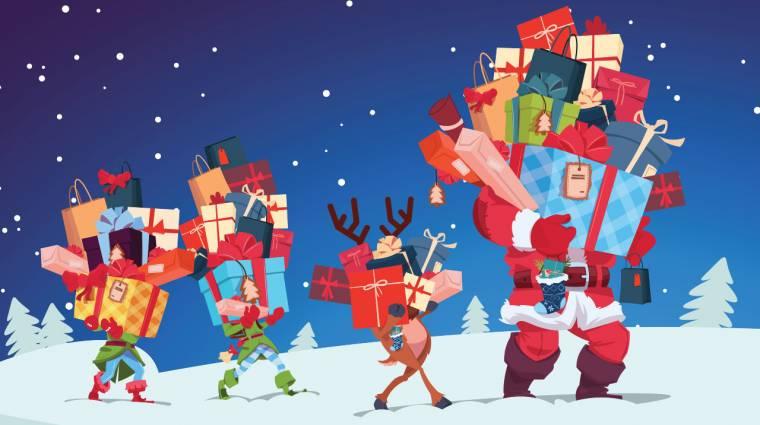 A télapó segédei: futárcégek és a karácsonyi kiszállítások kép