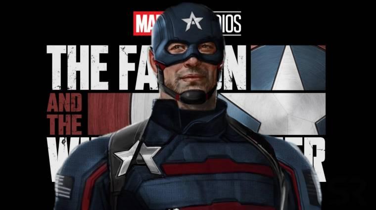 Forgatási képeken az új Amerika Kapitány a Sólyom és a Tél Katonája sorozatból kép