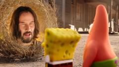 Hiába Keanu Reeves, a SpongyaBob-film is elkerüli a mozikat kép