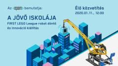 FIRST LEGO League döntő livestream - robotok csatája kép