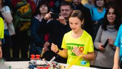 Újpesti robotcsapok jutottak az FLL közép-európai elődöntőjébe kép