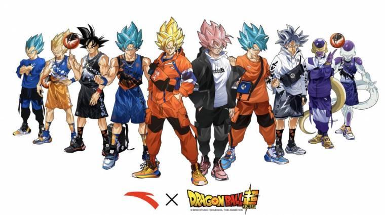 Menő Dragon Ball Super cipőket és sportcuccokat villantottak bevezetőkép