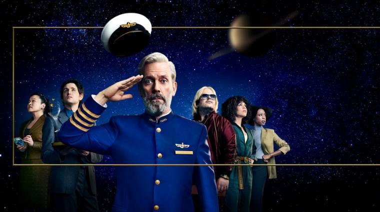 Szinkronosan is jön Hugh Laurie és az HBO közös sci-fi komédiája kép