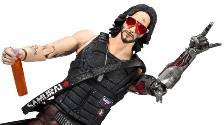 Hát persze, hogy készül Cyberpunk 2077-es Keanu Reeves akciófigura bevezetőkép