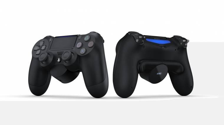 Hasznos kiegészítőt kap a DualShock 4 kontroller bevezetőkép