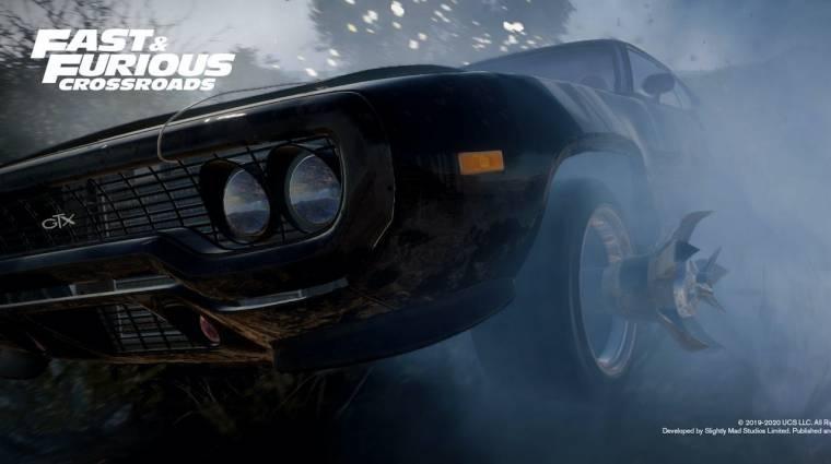 Még idén befut a Fast & Furious Crossroads, íme a játékmenet bevezetőkép