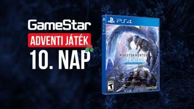 GameStar adventi játék 10. nap – újra itt a szörnyvadászok ideje!