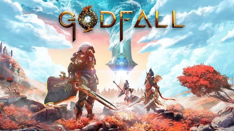 Egy újabb PS5-ös játék, a Godfall dobozképe is befutott bevezetőkép