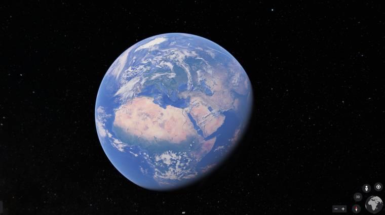 Megvan, mennyi részét fotózta be a Földnek a Google kép