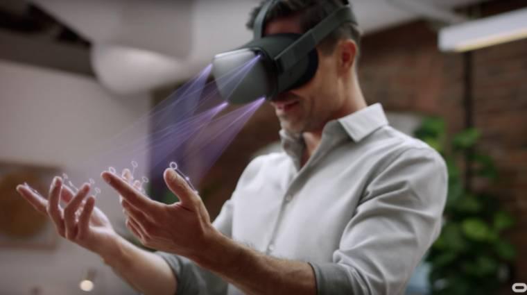 Már a héten elérhető lesz az Oculus Quest kézkövetése bevezetőkép