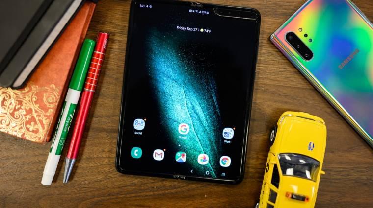 Olcsóbb lehet a vártnál a Samsung Galaxy Fold 2 kép