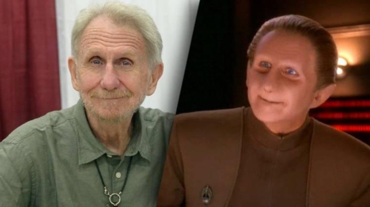 Elhunyt a Star Trek: Deep Space Nine sorozat Odo felügyelője bevezetőkép