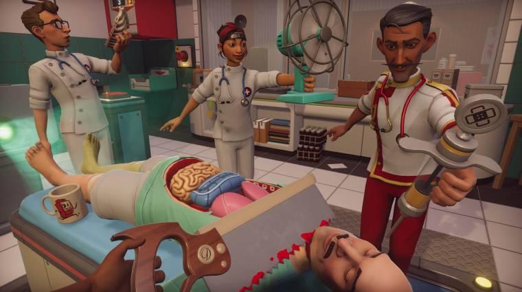 Ingyen jár a brit egészségügyi dolgozóknak a Surgeon Simulator 2 bevezetőkép