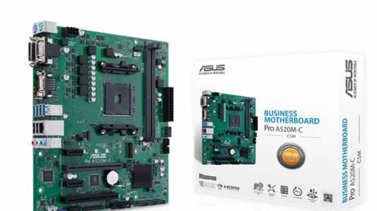 Bemutatkoztak az ASUS A520-as alaplapjai kép