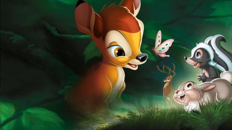 Jön az élőszereplős Bambi, újraélhetjük gyerekkorunk nagy traumáját bevezetőkép