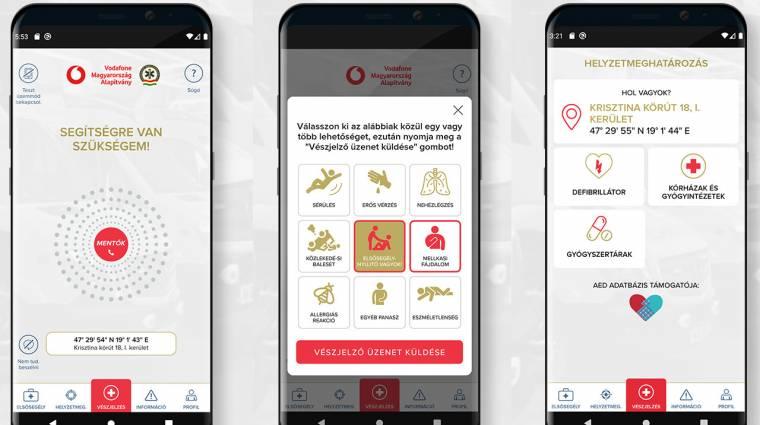 ÉletMentő: ezt az új segélyhívó appot érdemes most letölteni! kép