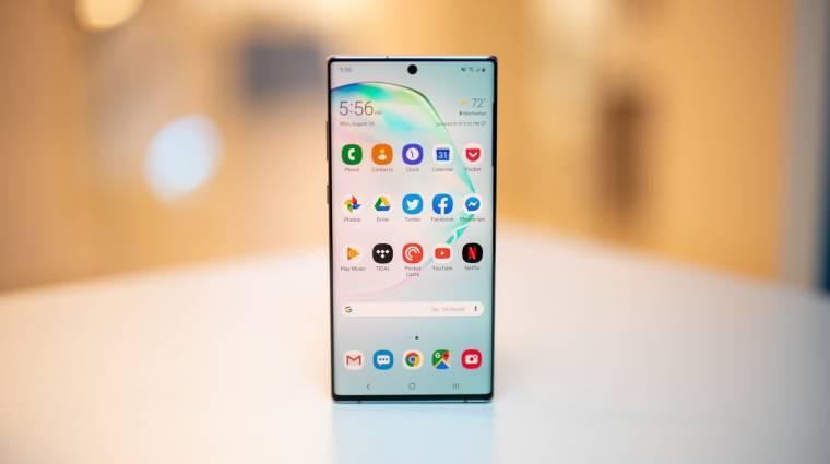 Érkezik a One UI 2.1 a Samsung Galaxy S10 és Galaxy Note 10 mobilokra kép