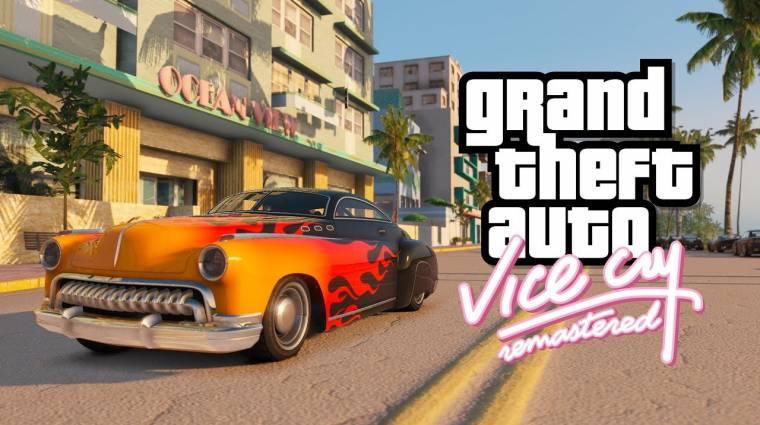 Már Vice Cityt is bebarangolhatjuk a GTA V grafikájával bevezetőkép