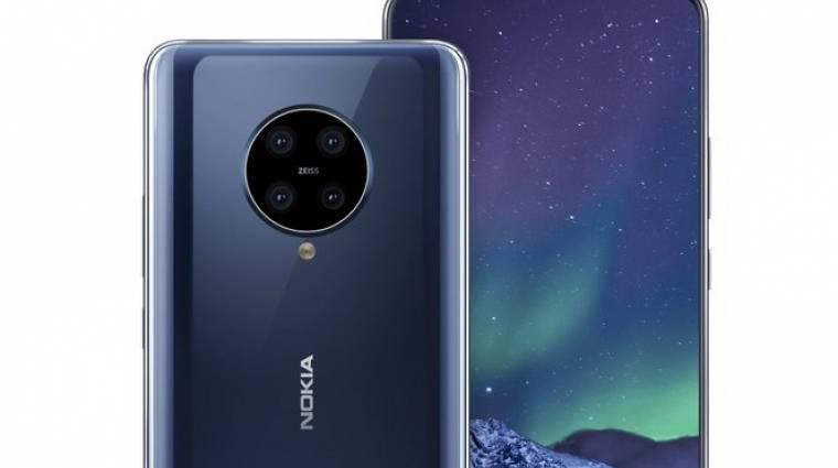 4 hátsó kamerával jöhetne a Nokia 9.2 kép